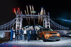 Jaguar Land Rover Takes Centre Stage In Paris