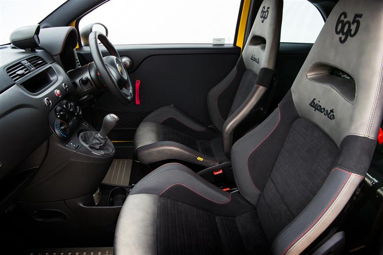 Abarth 595 1.4 T-Jet 165 Pista 70th Anniversary SPECIAL EDITION image 4