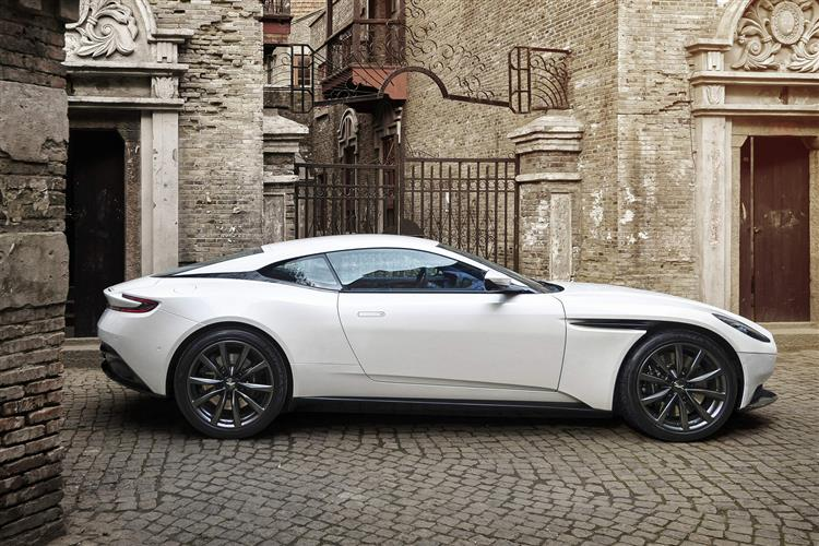 Aston Martin DB11 V8 Touchtronic 4.0 Automatic 2 door Coupe (17MY) at Aston Martin Hatfield thumbnail image