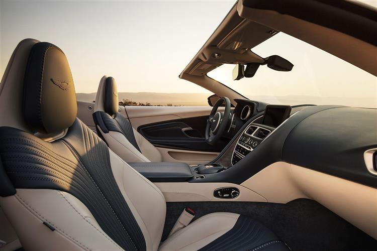 Aston Martin DB11 V8 Volante Touchtronic image 8