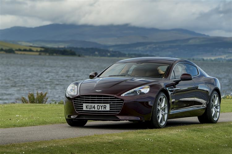 Aston Martin Rapide S 4dr Coupe Touchtronic image 3