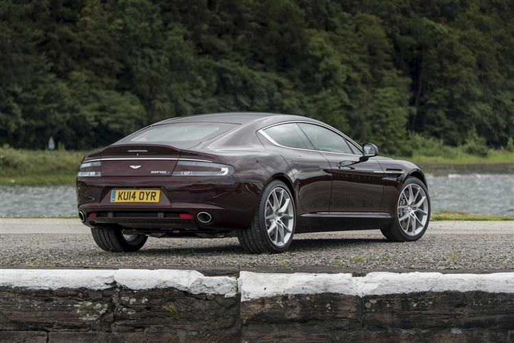 Aston Martin RAPIDE S V12 Touchtronic image 5