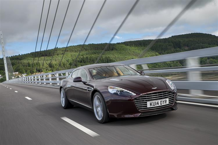Aston Martin RAPIDE S V12 Touchtronic image 6