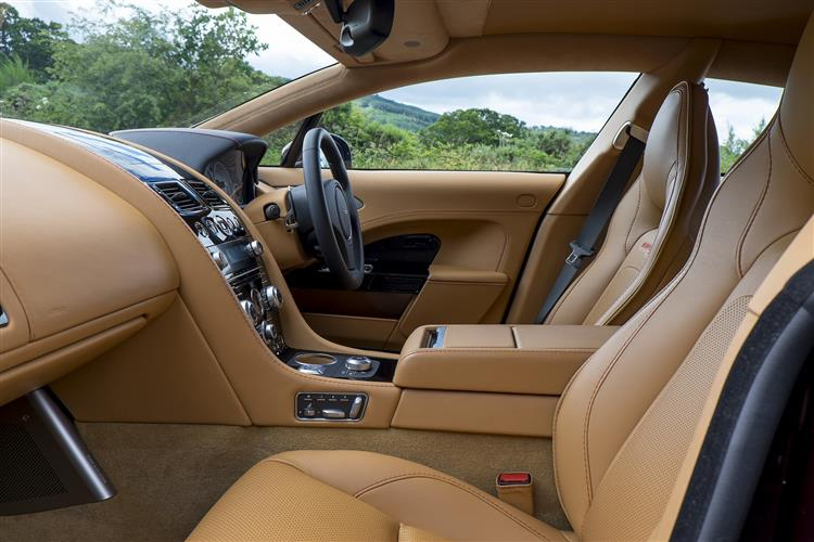 Aston Martin RAPIDE S V12 Touchtronic image 9