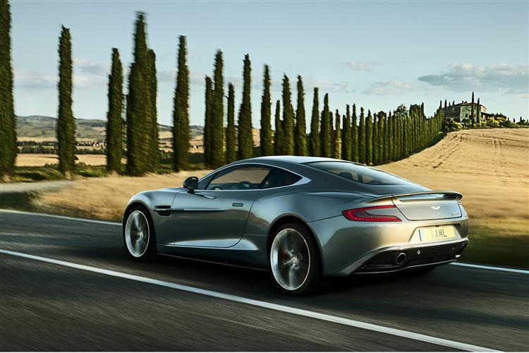 Aston Martin Vanquish Coupe Touchtronic image 1