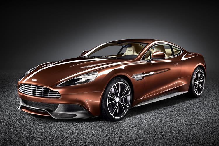Aston Martin Vanquish Coupe Touchtronic image 4