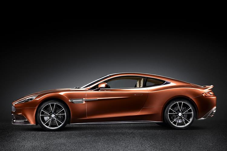 Aston Martin Vanquish Coupe Touchtronic image 5