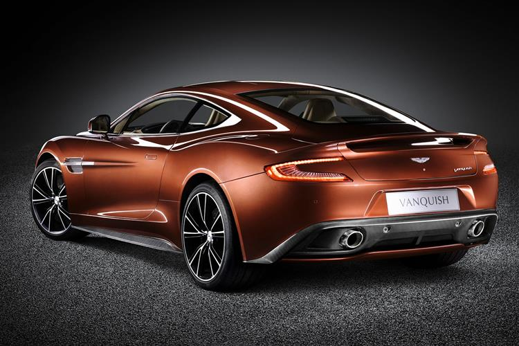 Aston Martin Vanquish Coupe Touchtronic image 6