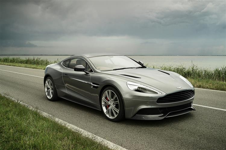 Aston Martin Vanquish Coupe Touchtronic image 7