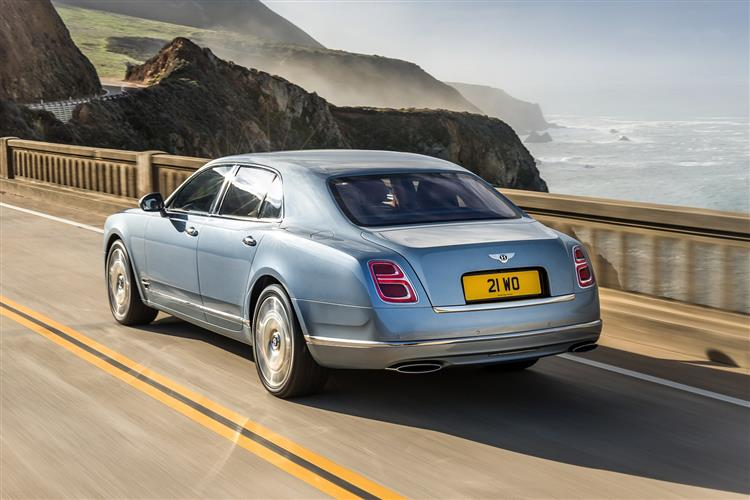 Bentley Mulsanne Extended Wheelbase - The most luxurious car in the range image 4