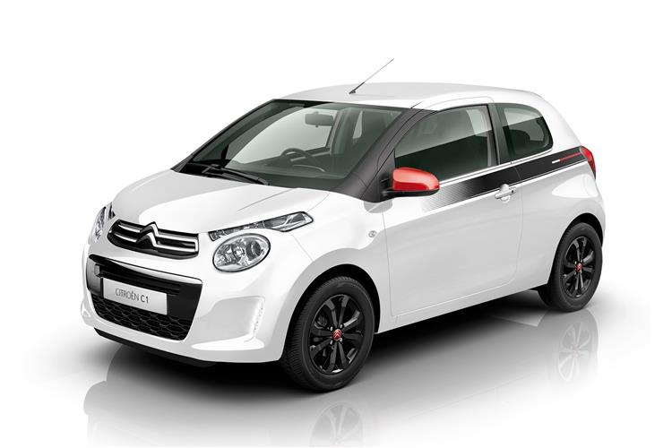 Citroen C1 1.0 VTi 72 Urban Ride SPECIAL EDITION 5 door Hatchback (18MY)