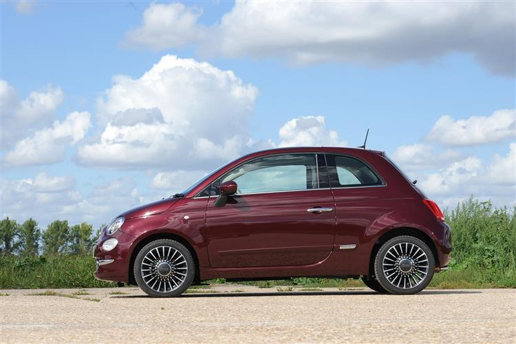 Fiat 500 1.0 Mild Hybrid Rock Star 3 door Hatchback