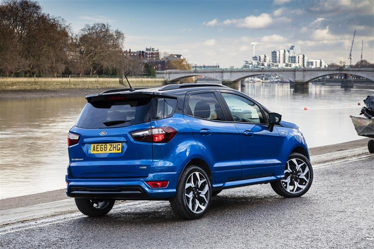 Ford Ecosport Titanium 1.0l Ecob 125ps S6.2 Automatic 5 door Hatchback (2019)