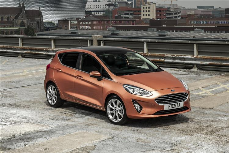 Ford Fiesta Titanium 1.0T EcoBoost 100PS with Start/Stop 6 Speed  5 door Hatchback (18MY)