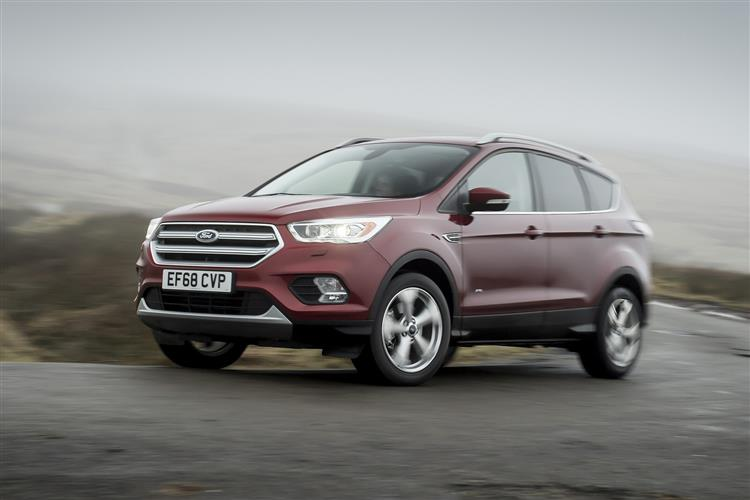 Ford Kuga NEW KUGA ST-L 2.0TDCI 150PS 6SPD MHEV Diesel Estate (17MY)