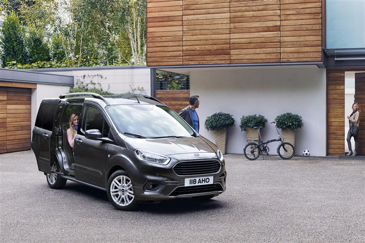 Ford New Tourneo Courier 1.0 EcoBoost Zetec 5dr image 1