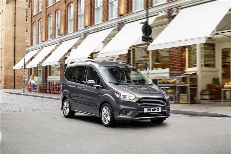 Ford New Tourneo Courier 1.0 EcoBoost Zetec 5dr image 2