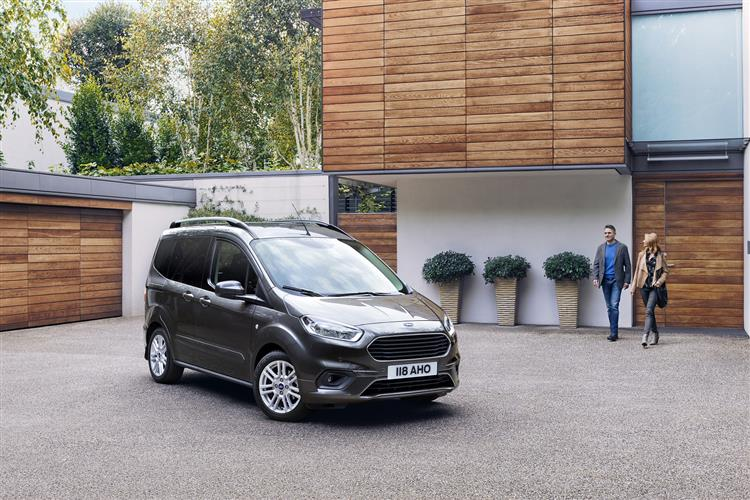 Ford New Tourneo Courier 1.0 EcoBoost Zetec 5dr image 7