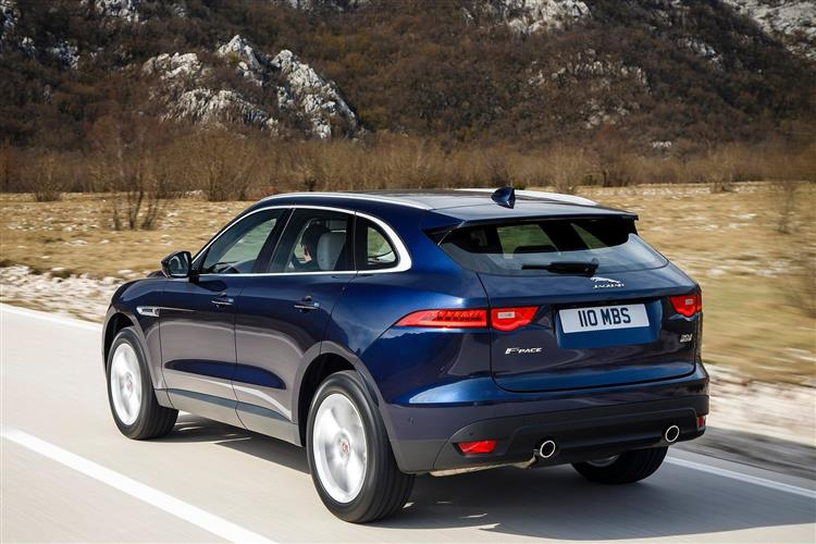 Jaguar F-PACE R-Sport 2.0d 163PS RWD Manual image 13 thumbnail