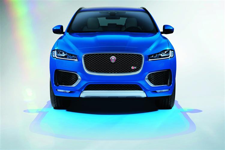 Jaguar F-PACE R-Sport 2.0d 163PS RWD Manual image 1 thumbnail