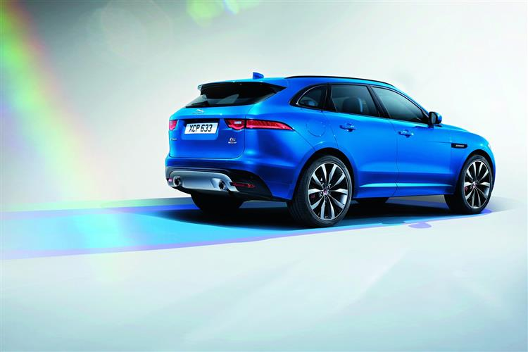 Jaguar F-PACE R-Sport 2.0d 163PS RWD Manual image 9
