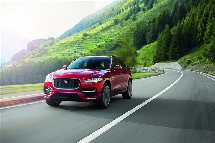 Jaguar F-PACE R-Sport 2.0d 163PS RWD Manual image 4