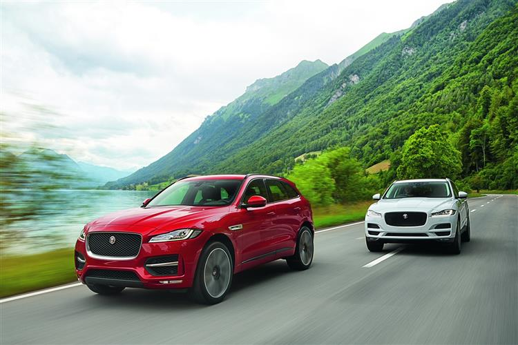 Jaguar F-PACE R-Sport 2.0d 163PS RWD Manual image 5