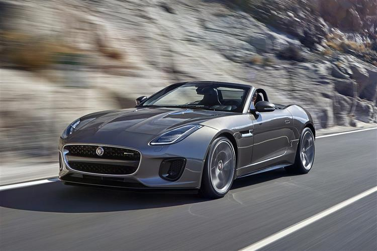 Jaguar F-TYPE 3.0 [380] S/C V6 Chequered Flag AWD SPECIAL EDITIONS Automatic 2 door Convertible (19MY)