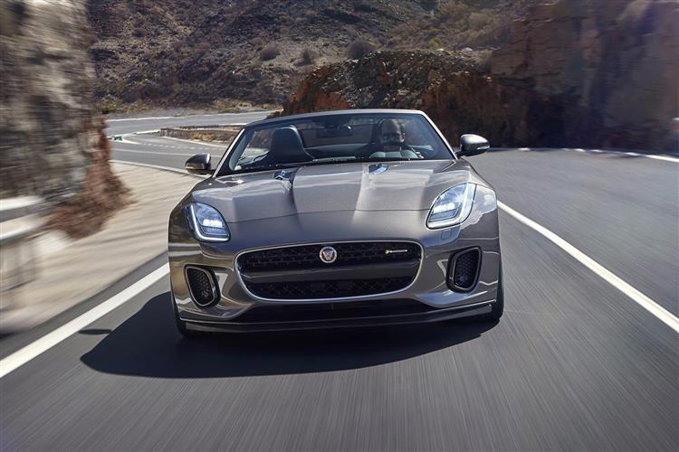 Jaguar F-TYPE 5.0 Supercharged V8 SVR AWD image 2