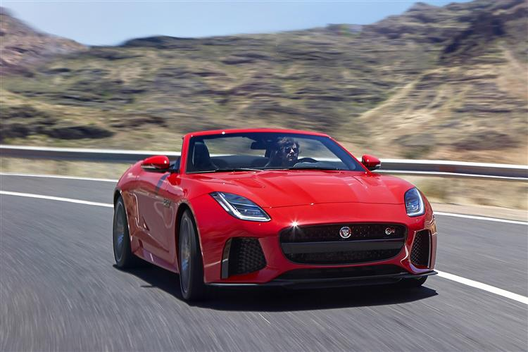 Jaguar F-TYPE 5.0 Supercharged V8 SVR AWD image 4