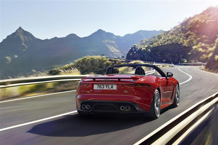 Jaguar F-TYPE 5.0 Supercharged V8 SVR AWD image 5