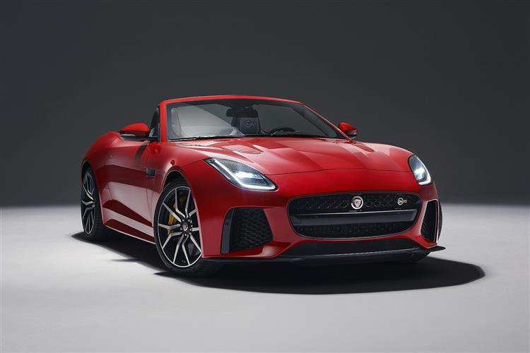 Jaguar F-TYPE 5.0 Supercharged V8 SVR AWD image 6