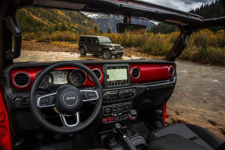 Jeep Wrangler 3.6 V6 Rubicon 4dr 284hp Auto 4x4 image 8