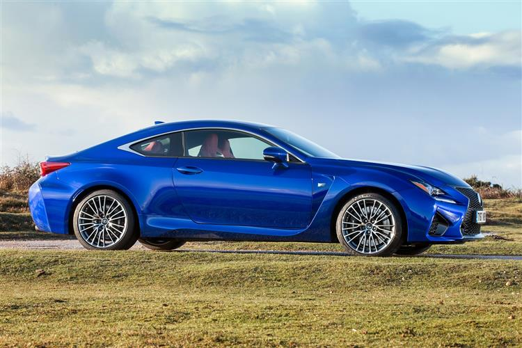 New Lexus RC F coupe review