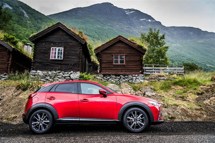 Mazda CX-3 2.0 Sport Nav + Automatic 5 door Hatchback (18MY)