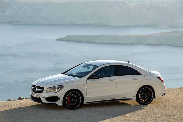 MERCEDES-BENZ CLA CLASS AMG COUPE CLA 45 4Matic 4dr Tip Auto