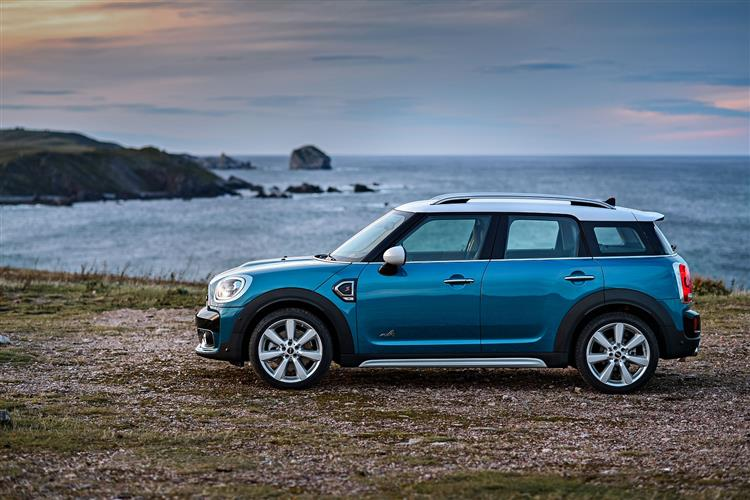 Mini Countryman Cooper S 20 5dr Automatic Hatchback 2017 At