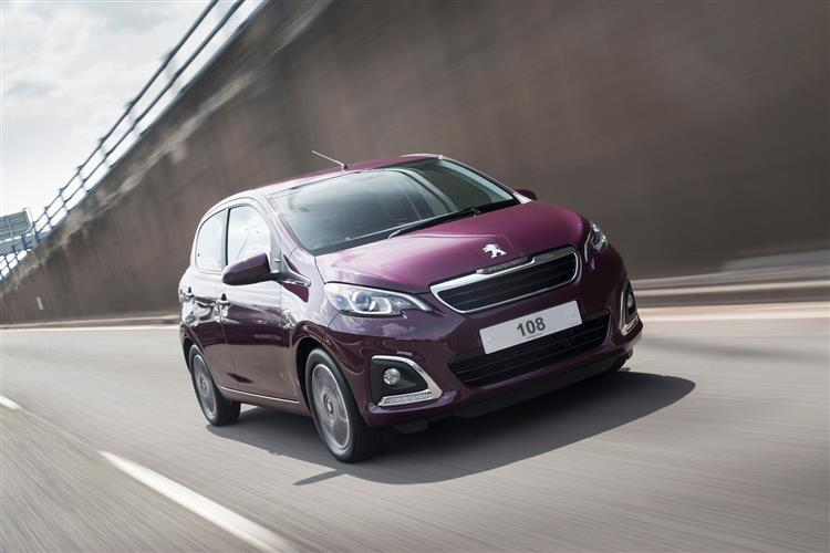 Peugeot 108 1.0 72 Allure 5 door Hatchback (18MY)