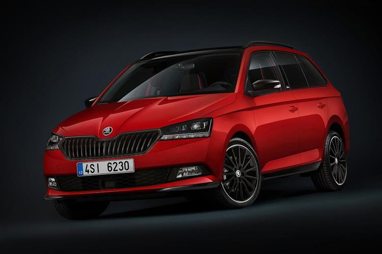 Skoda Fabia TSI SEL 95PS 5G MAN 1.0 Hatchback (2019)