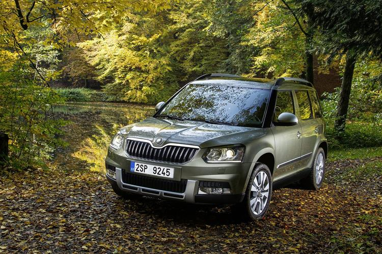 Skoda Yeti Outdoor 2.0 TDI CR SE L 5dr