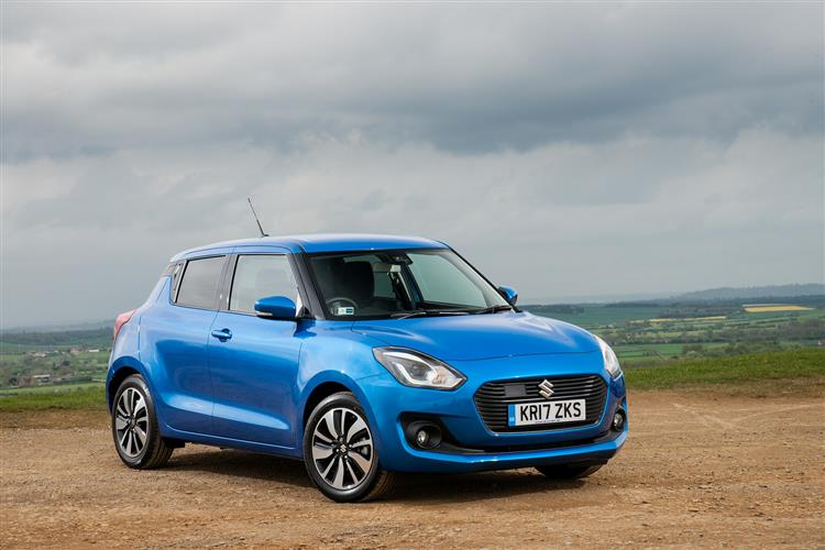 Suzuki Swift 1.2 Dualjet SHVS SZ-T Petrol/Electric Hybrid                             5 door Hatchback (19MY) at Maidstone Suzuki, Honda and Mazda thumbnail image