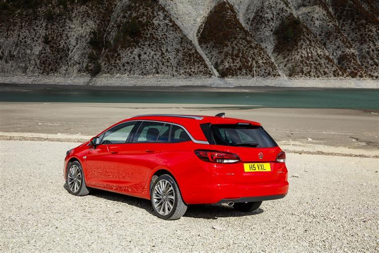 ... Vauxhall Astra Sports Tourer SRI NAV 1.4i 150PS Turbo S/S Auto Image 2  ...