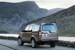 Image three of the Land Rover Discovery