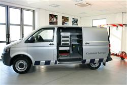 Image two of the Volkswagen Transporter van range
