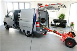 Image three of the Volkswagen Transporter van range