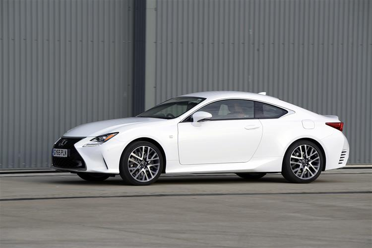 Lexus RC Coupe Review