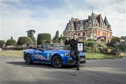Abarth Celebrates New Guiness World Record With 124 Spider