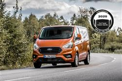 FORD SCORES UNIQUE INTERNATIONAL VAN OF THE YEAR 2020 AWARD