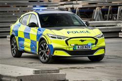 MACH-E ATTRACTS POLICE ATTENTION