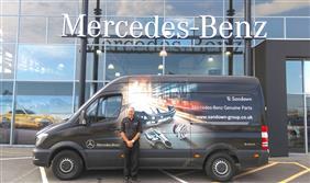 Sandown Mercedes-Benz and Maxoptra Software